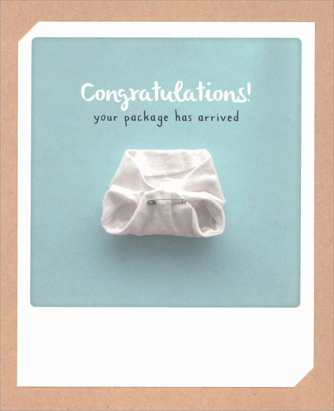 Pickmotion - Boy Arrived - Baby Card #ZG0529
