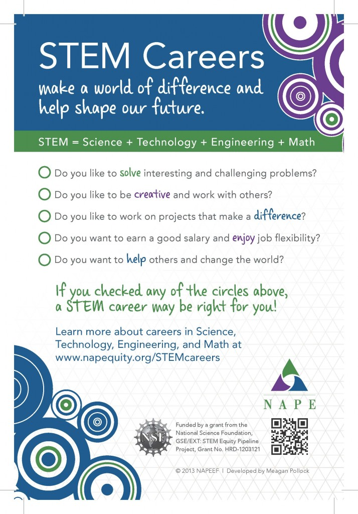 STEM Careers Just for Students National Alliance for Partnerships