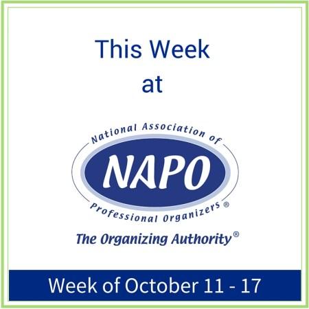This Week at NAPO week of December 13 - 19