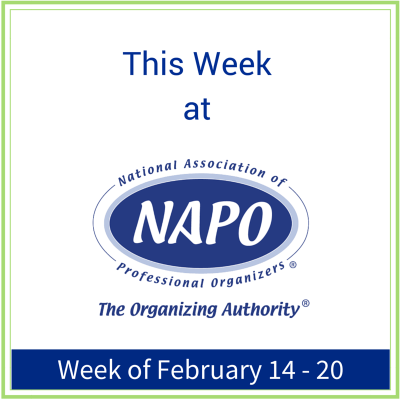This Week at NAPO week of February 14 - 20