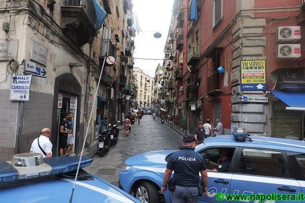 Napoli: sparatoria al Rione Sanità, c'è un ferito
