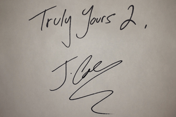Truly Yours 2 (Front)