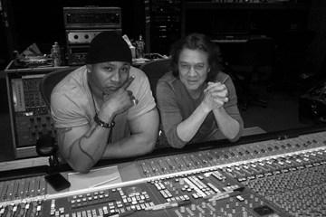 LL Cool J & Eddie Van Halen (Front)