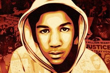 Trayvon Martin by Shepard Fairey