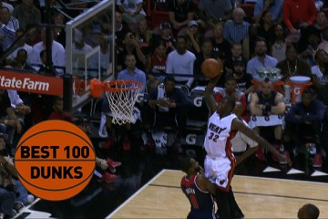 The 100 Best Dunks on the 2015 NBA Season