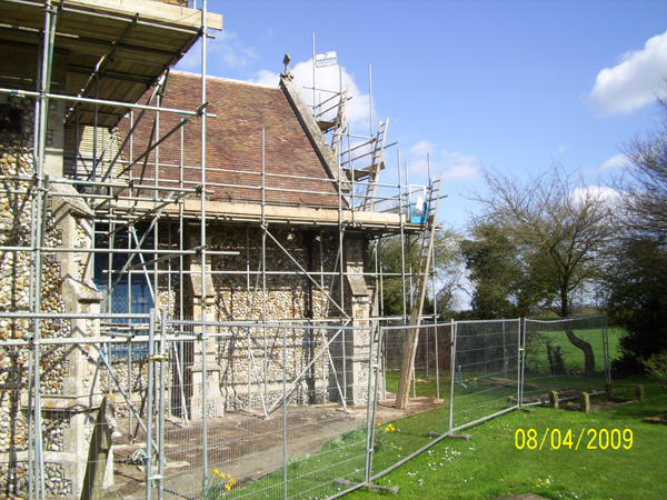 Restoration of Weasenham Church
