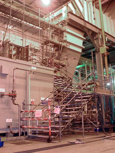 Scaffolding solution for Sutton Bridge Power Station