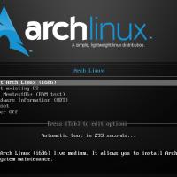Hướng dẫn cài đặt hệ điều hành Arch Linux (sử dụng AIF)