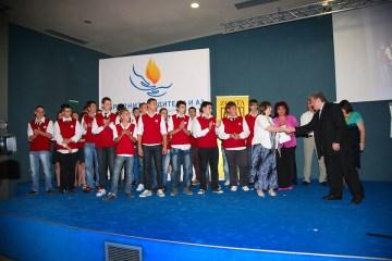 Ръководителят на проекта, доц. Кирчо Атанасов , поздравява участниците