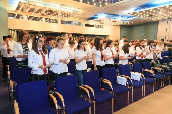Народните будители и Аз 2017 - рециране на Одата за Левски