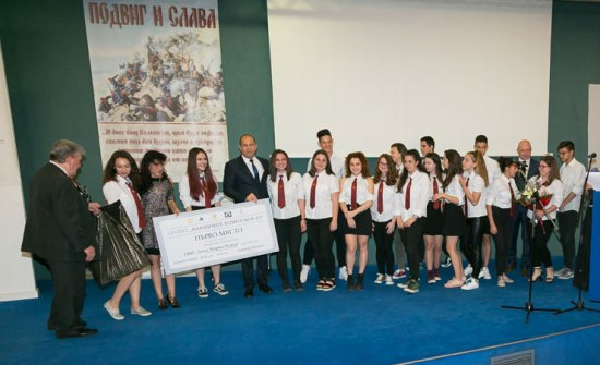 10-11 клас ОМГ Акад. Кирил Попов,  1-во място