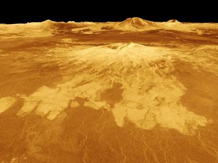 Venus North Polar Vortex