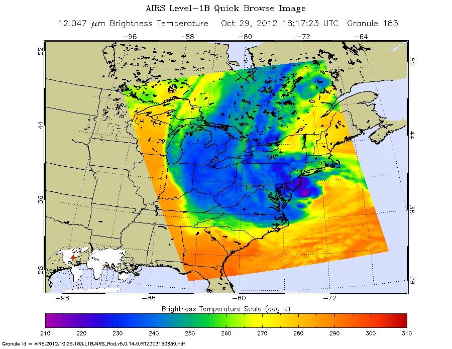 Hurricane Sandy (Atlantic Ocean) NASA