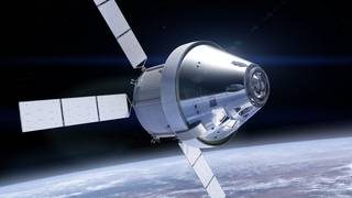 Orion Spacecraft in Orbit
