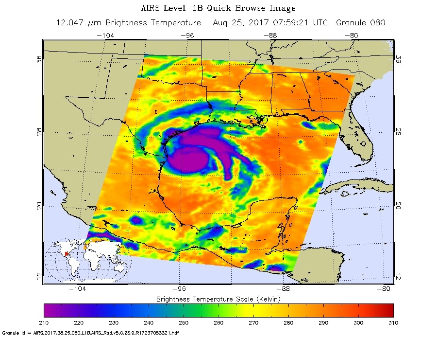 New NASA Maps Show Flooding Changes In Aftermath of Hurricane Harvey