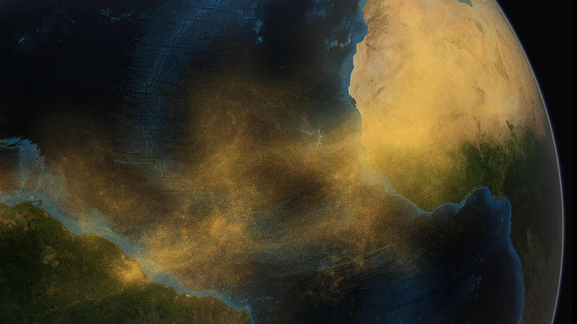 Animated Jungle Wallpaper Saharan Dust Feeds Amazon S Plants Nasa