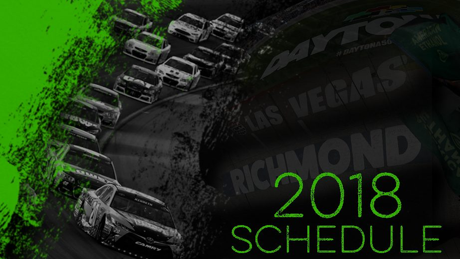 2018 NASCAR schedule Playoff shakeup highlights lineup for 2018