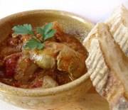 Печень куринная с томатным соусом