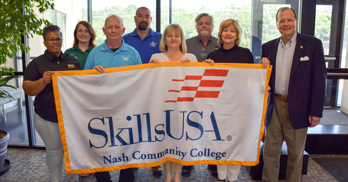 O\u0027Reilly Auto Parts Makes Donation to NCC SkillsUSA Chapter Nash