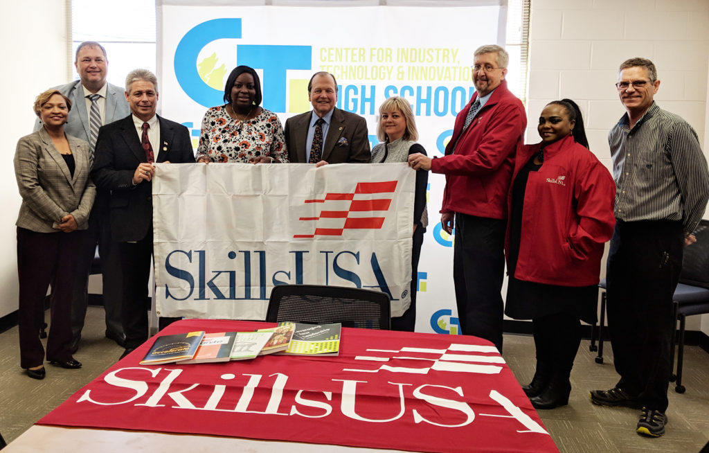 NCC Supports CITI High SkillsUSA Chapter Nash CC News