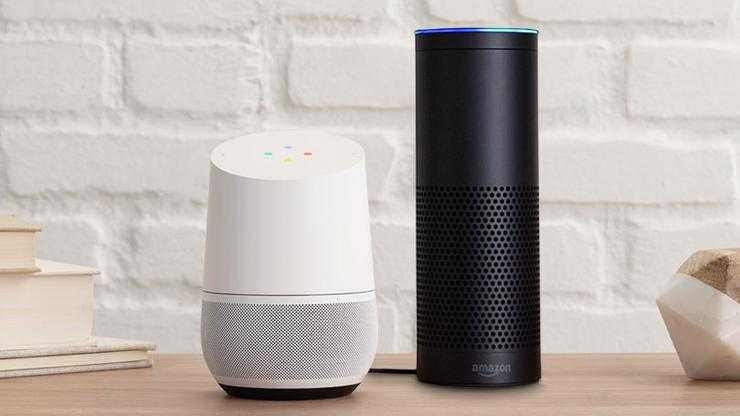 Google, Amazon and Home Accents