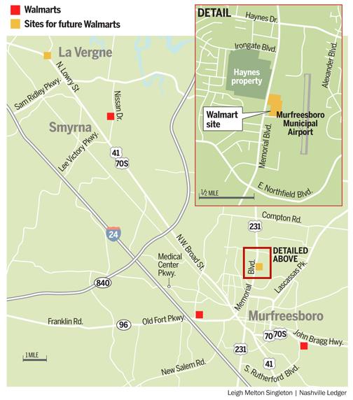 Murfreesboro faces more Walmart anxiety - The Nashville Ledger