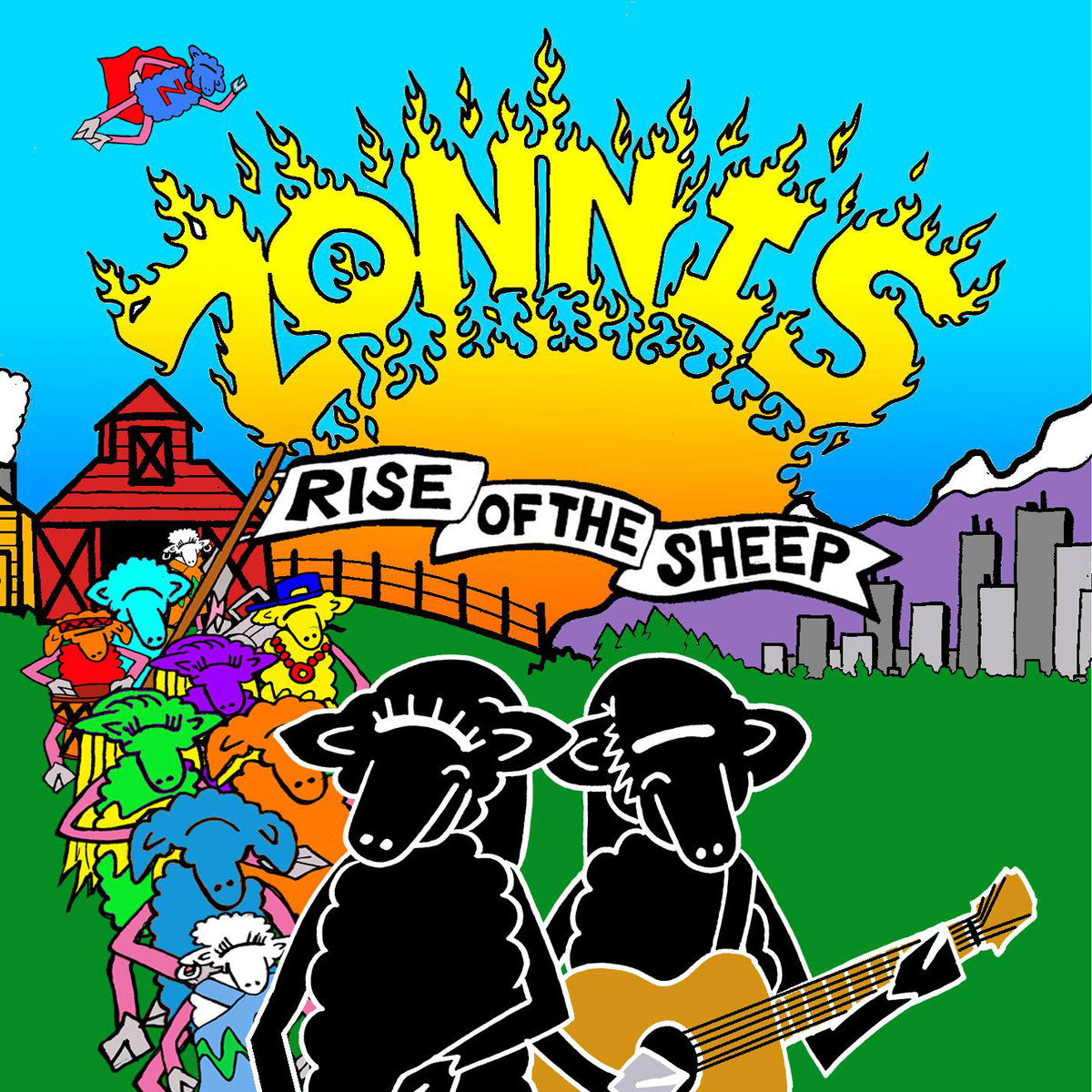 "Canadian Folk Roots Artists, Zonnis release ""Rise of the Sheep"""