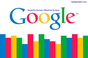 Google Sıralama Nasıl Yükseltilir