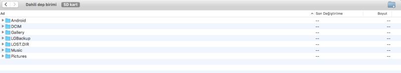 Mac android dosya transferi nasıl yapılır ?