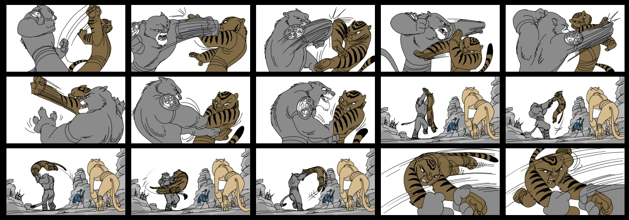 Kung-Fu Panada ADT-StoryBoards Pinterest Storyboard - film storyboards