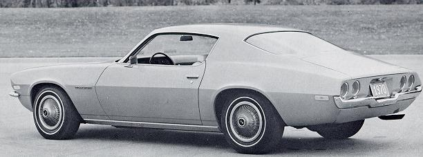 1970 Camaro Parts and Restoration Information