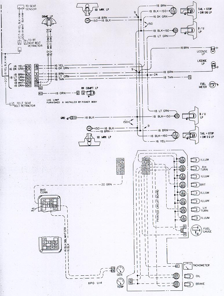 1970 camaro wiring diagram