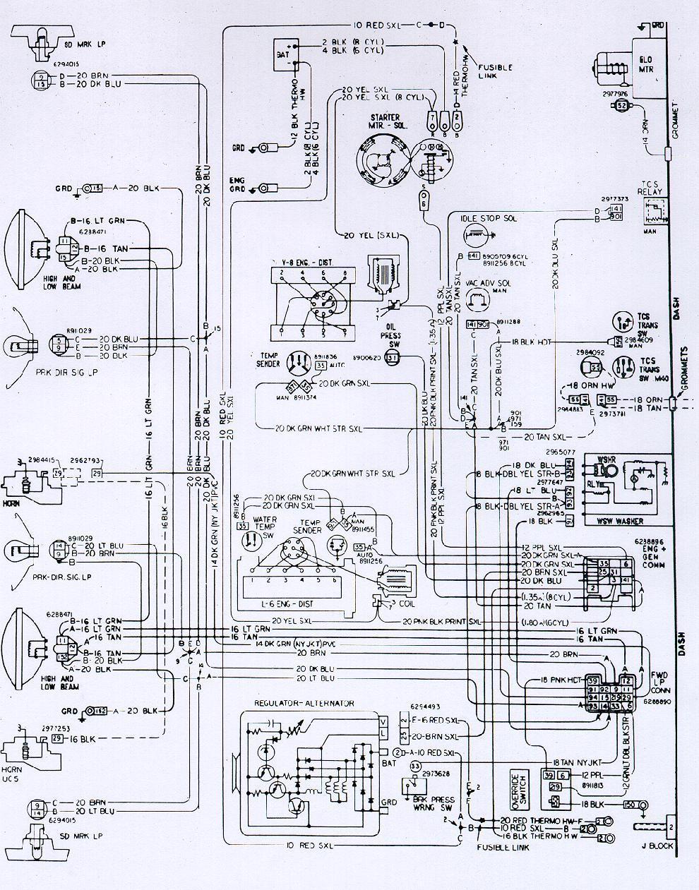 1973 firebird engine wiring diagram