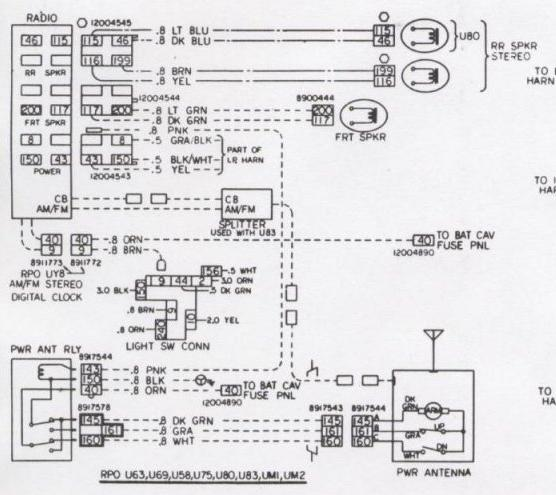 Stereo Wiring Diagram 2002 Camaro Z28 Wiring Schematic Diagram