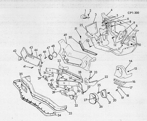 1974 Camaro PDM, Assembly  Service Info