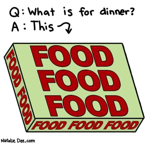 enjoy your food Five Fun Food Stuffs