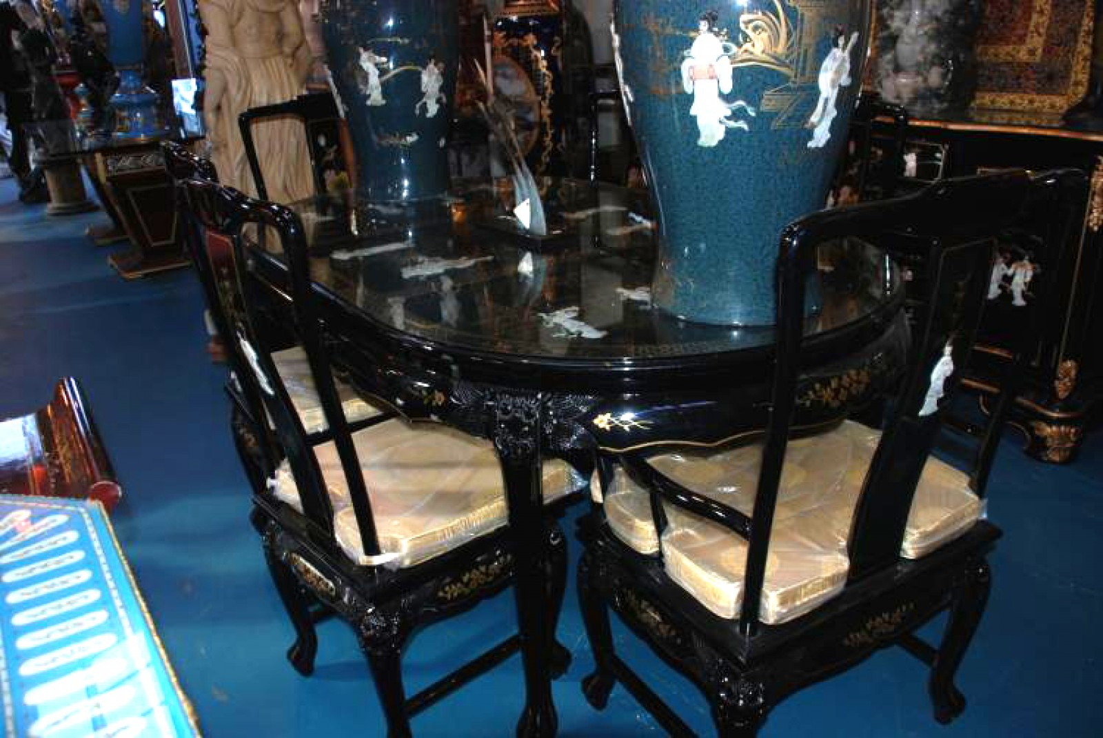 You Can Edit This Chinese Dining Set With Six Chairs Image Using This  Ivoiregion Tool Before Save To Your Device. Chinese Dining Set ...