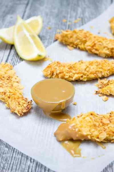 Baked Cornflake Chicken Tenders - Natalie's Health
