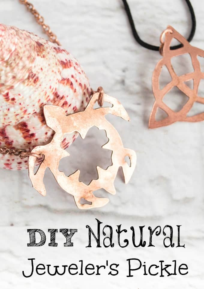 DIY Natural Jeweler's Pickle