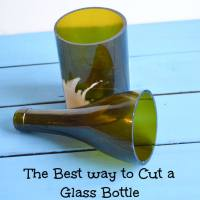 How to Cut Glass Bottles (The BEST way)