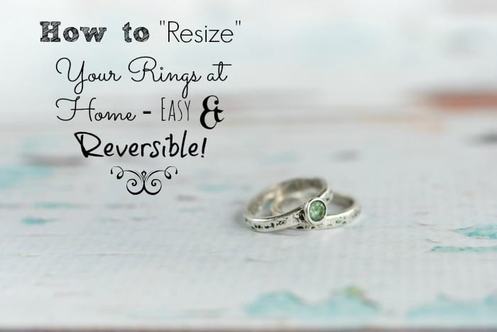 How To Resize Your Ring To Make It Smaller At Home