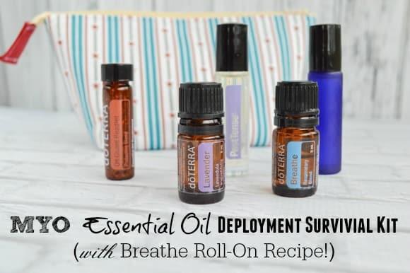 MYO Essential Oil Deployment Survival Kit