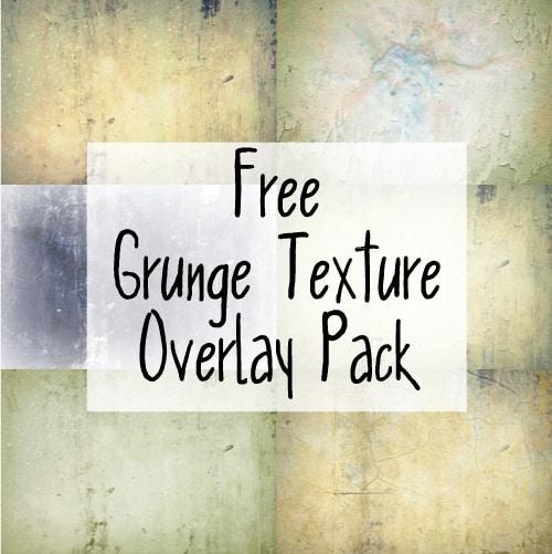 Free grunge texture overlay pack