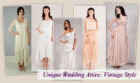 Unique Wedding Attire: Vintage Style | Nataya Dresses