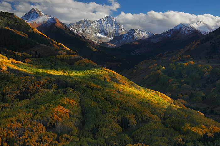 Wallpaper Images Of Mountains In Fall Shadows Of September Capitol Peak White River National