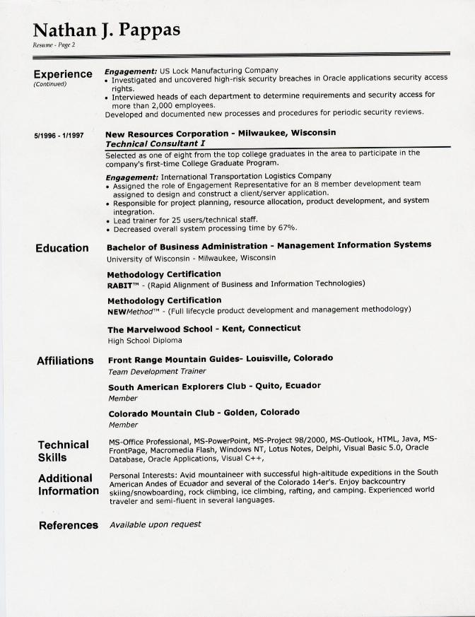 Free Resume Samples Cover Letter Samples And Tips Resume Samples