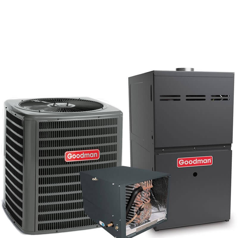 3 Ton Goodman 175 SEER R410A 96 AFUE 100,000 BTU Two-Stage