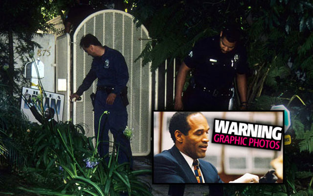 O.J. Simpson Crime Scene Photos F thumbnail