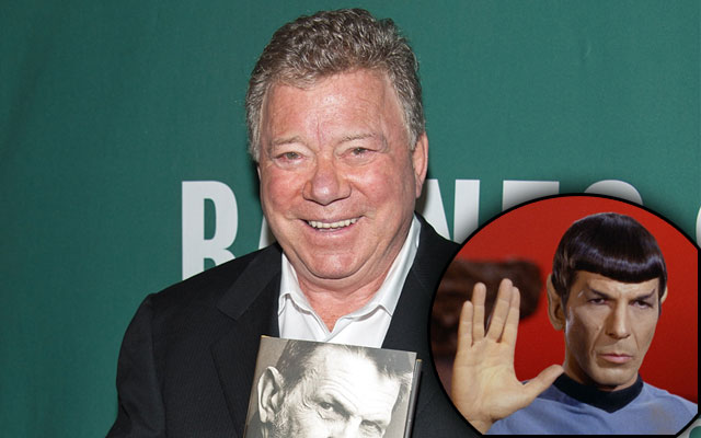 William Shatner Leonard Nimoy Feud F