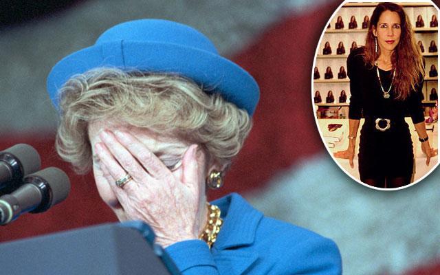 Nancy Reagan Patti Davis Feud F